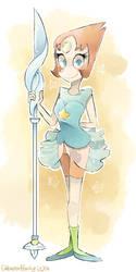 Pearl - Steven Universe by SketchBookOaP