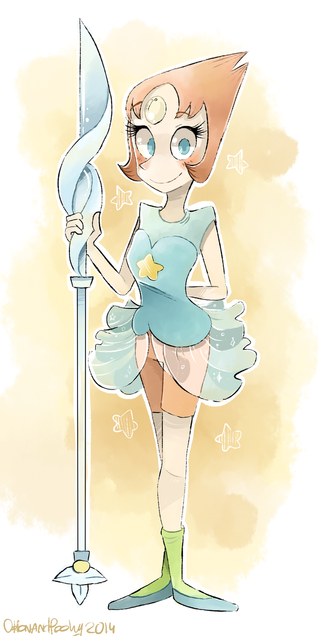 Gift for my friend Pendulum89 Pearl from Steven Universe