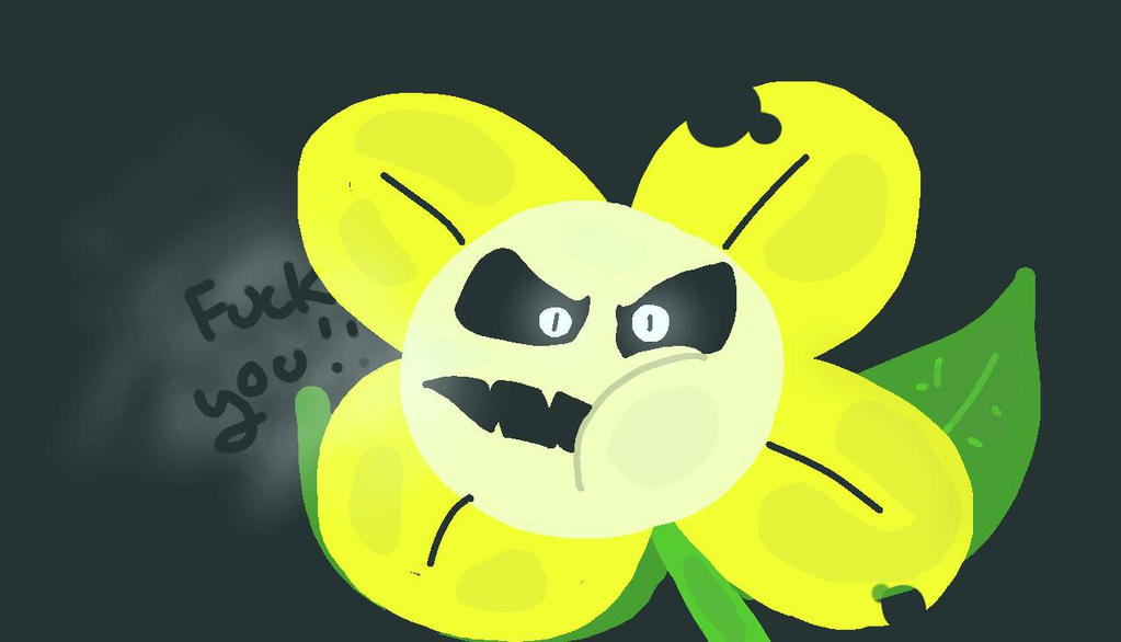 Undertale кто такой цветок