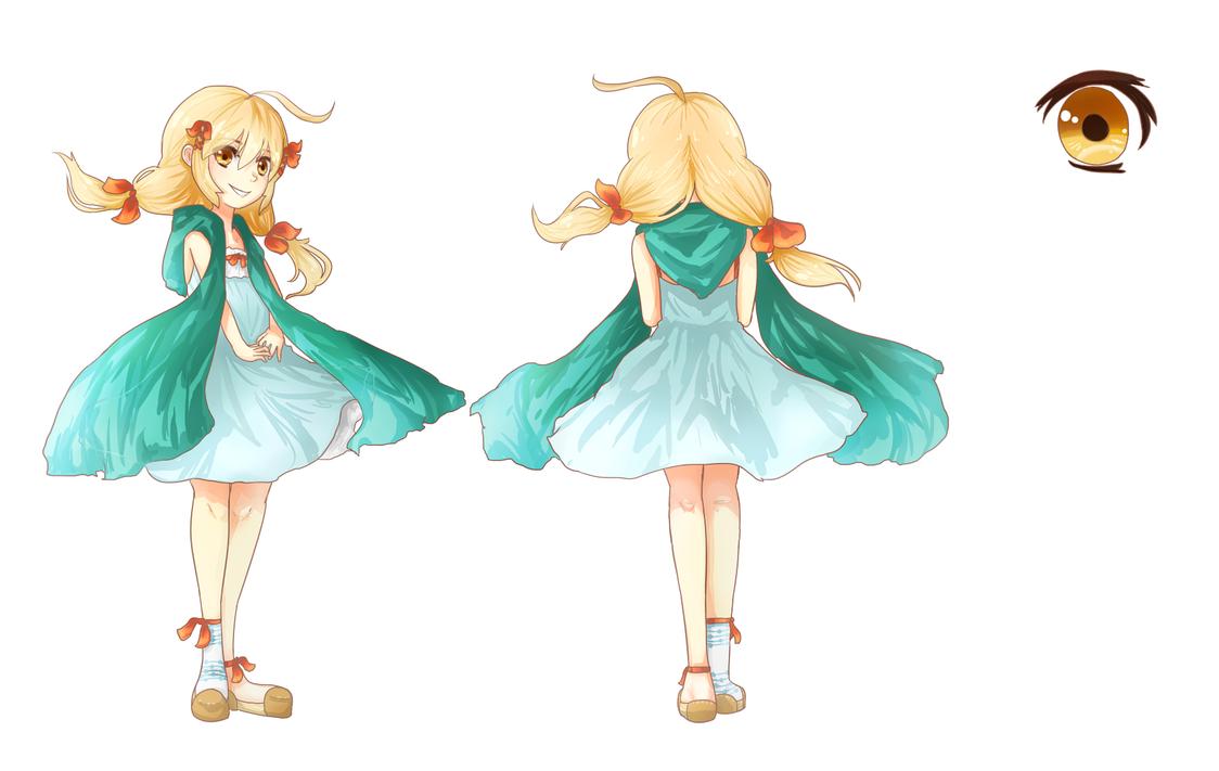 A Character (I dunno) by KawaiiStrawberryfox