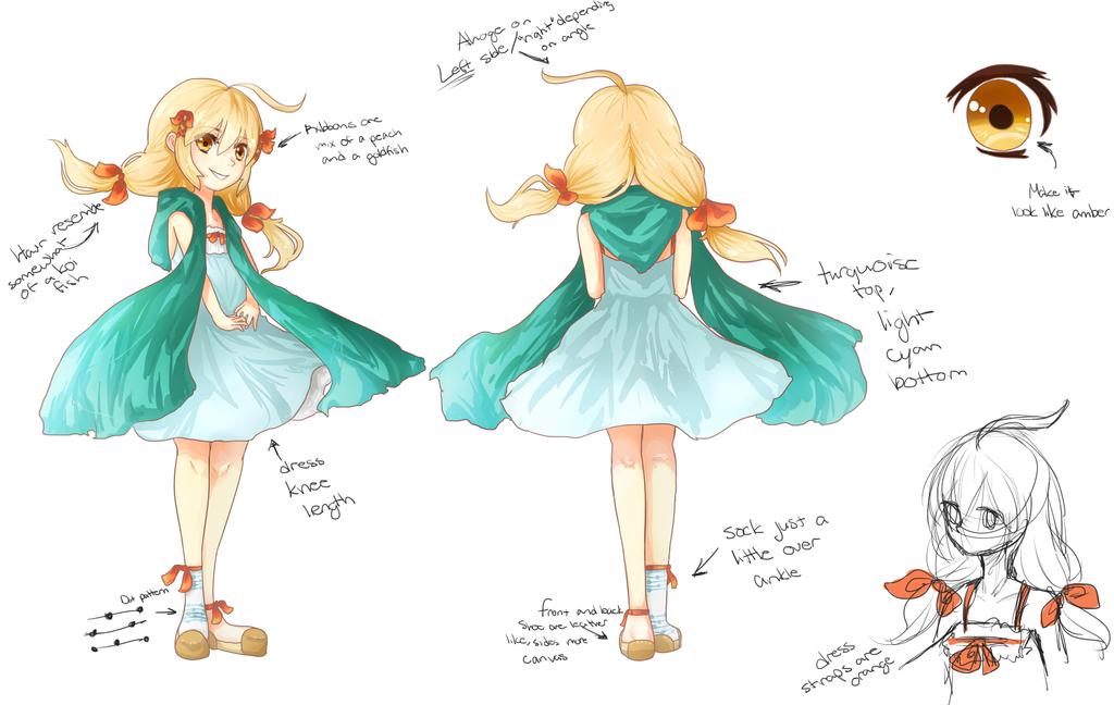 Reference for Kaya by KawaiiStrawberryfox