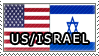 ++ Stamp - USA x Israel by O-Reeeo