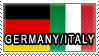 ++ Stamp - Germany x Italy by O-Reeeo
