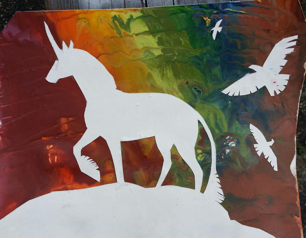 Unicorn by seranity101