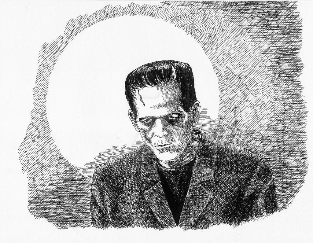 Frankenstein's Monster by 197DMG2