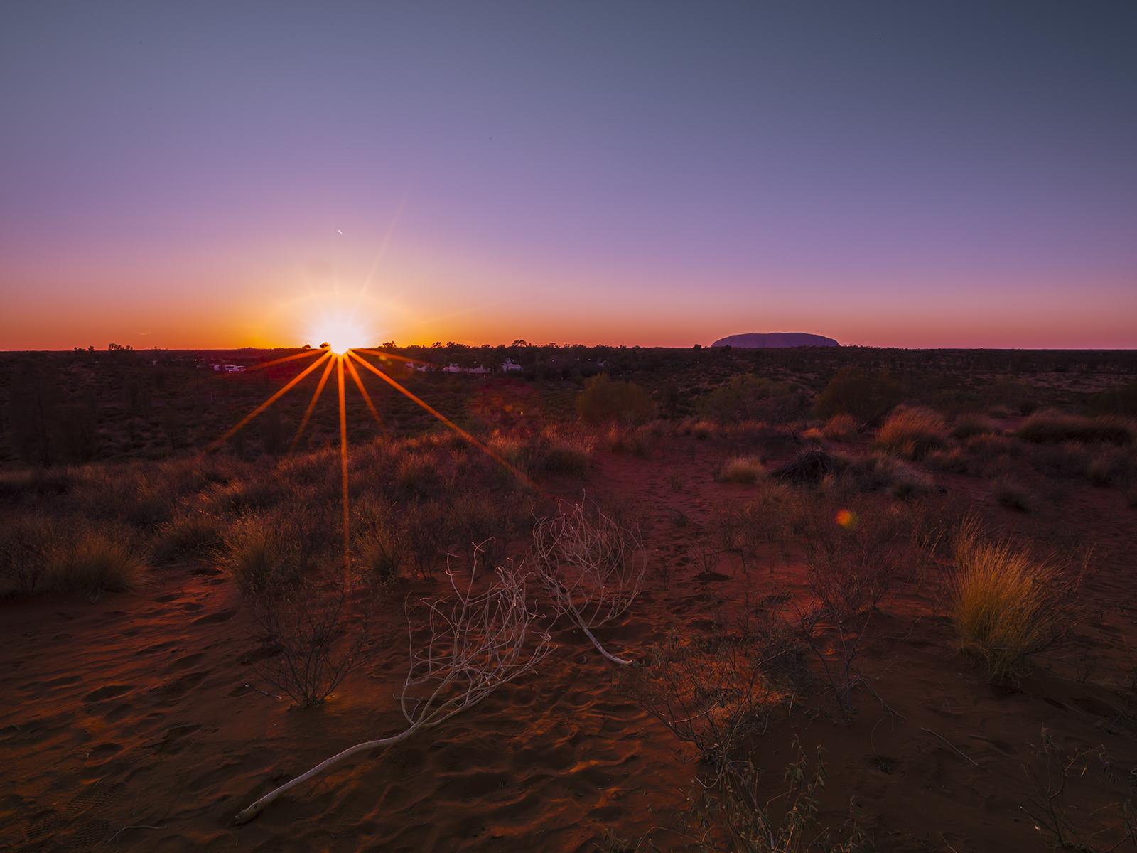 Ayers Rock at Sunrise by icedragonpeach