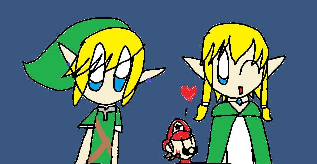 M.i.t.m. Characters Bio- Lily and Link by MeleeInTheMiddle