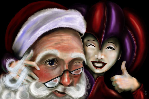 Christmas card 2007 by Griatch-art