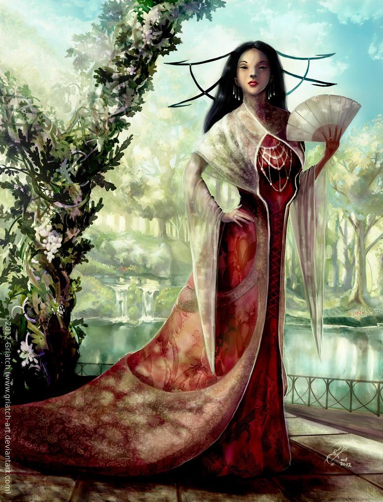 Usurper saga - The Empress by Griatch-art