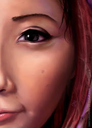Cheerful Close-up