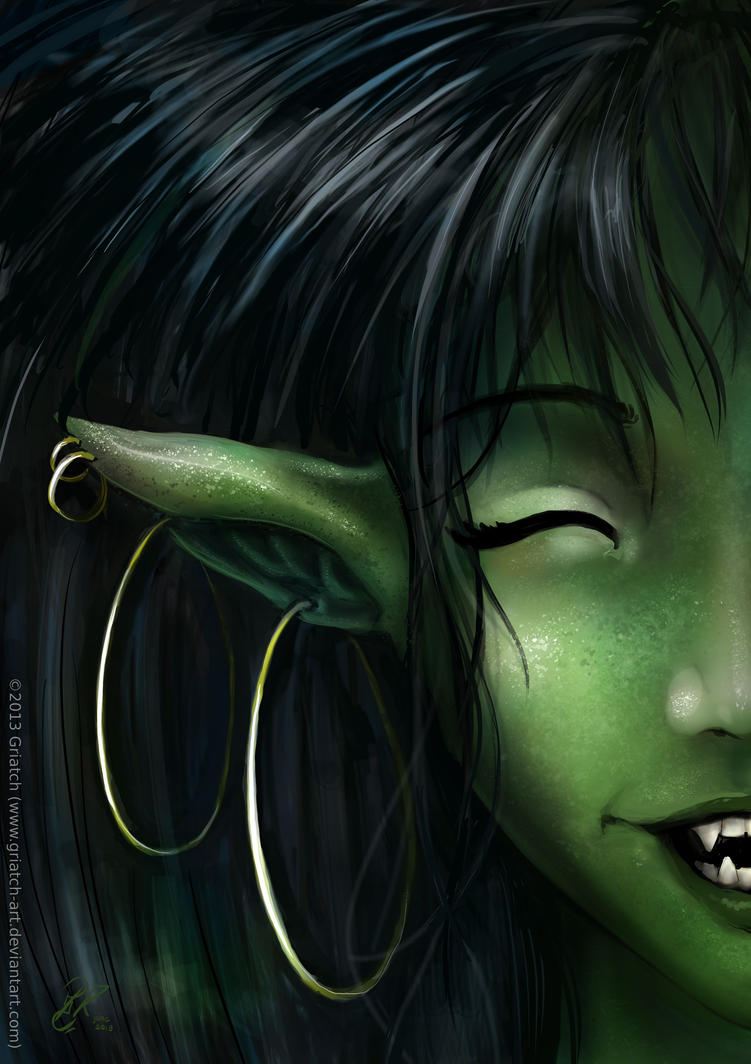 Closeup of Trolls by Griatch-art