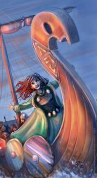 Red-haired viking girl (RAP)