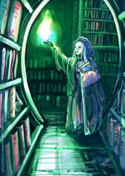 A Wizard's book store