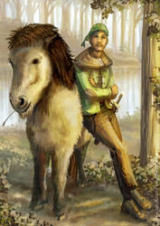 Man and Pony