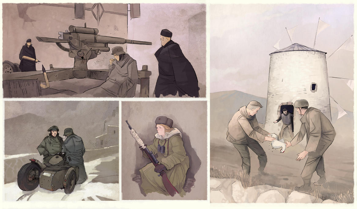 WW2 sketches by DimMartin