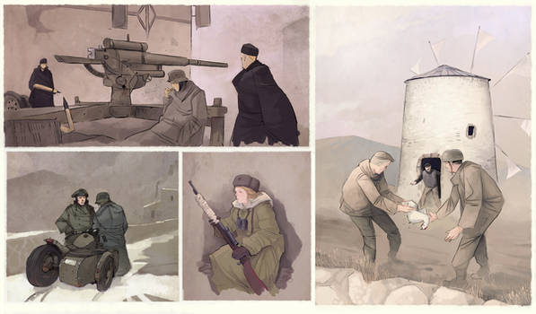 WW2 sketches