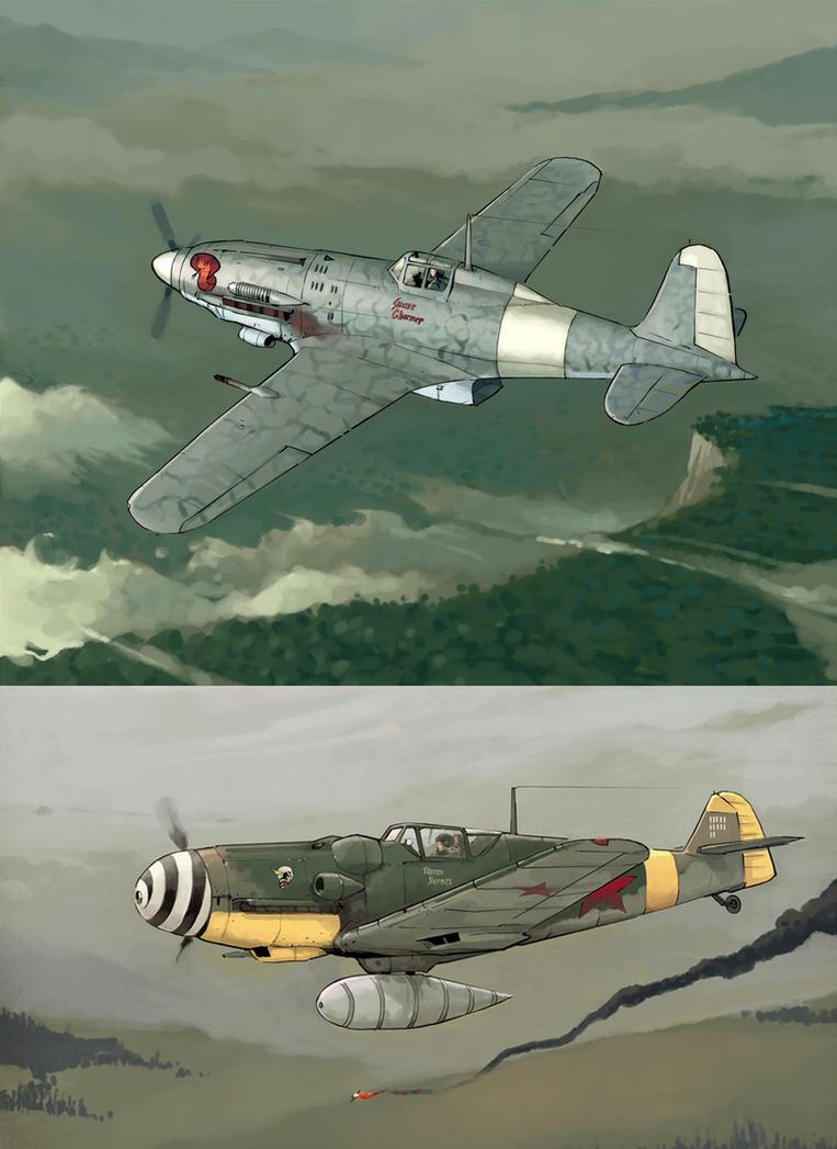 WW2planes by DimMartin
