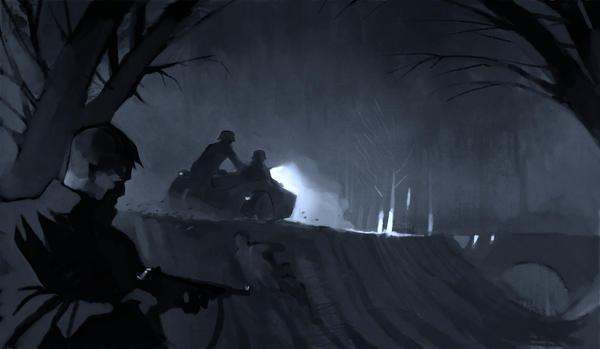 Sidecar patrol by DimMartin