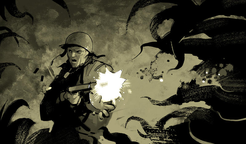 Carter vs Tentacles by DimMartin