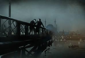 Murder on Galata Bridge by DimMartin