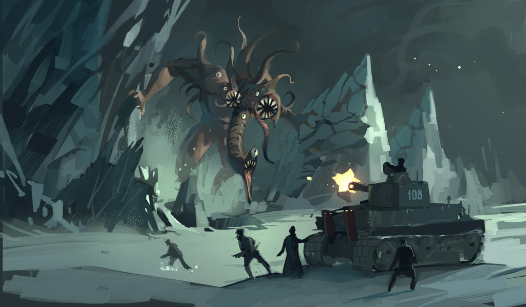 Achtung!Cthulhu goes video gaming! by DimMartin