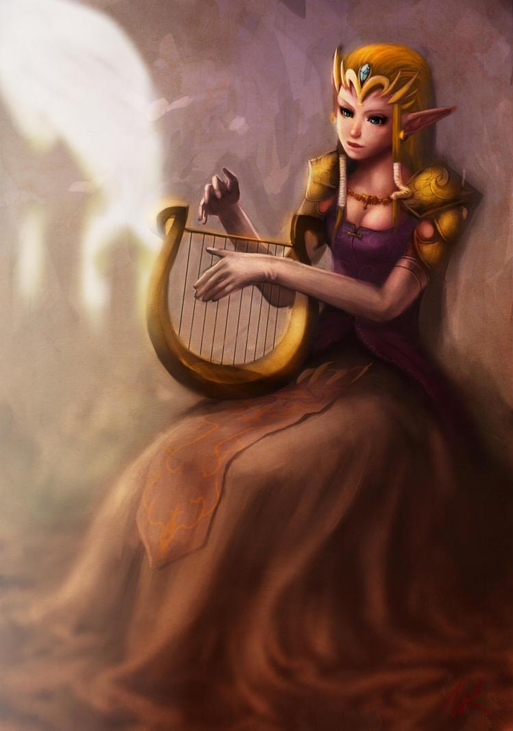 Zelda by Wynturtle