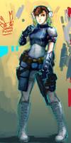 Chun li Resident evil ed.