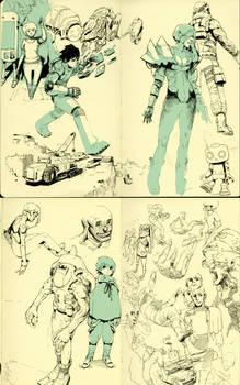 Pen Sketches C