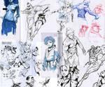 Pen Sketches E