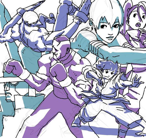 Street Fighter III by Wynturtle