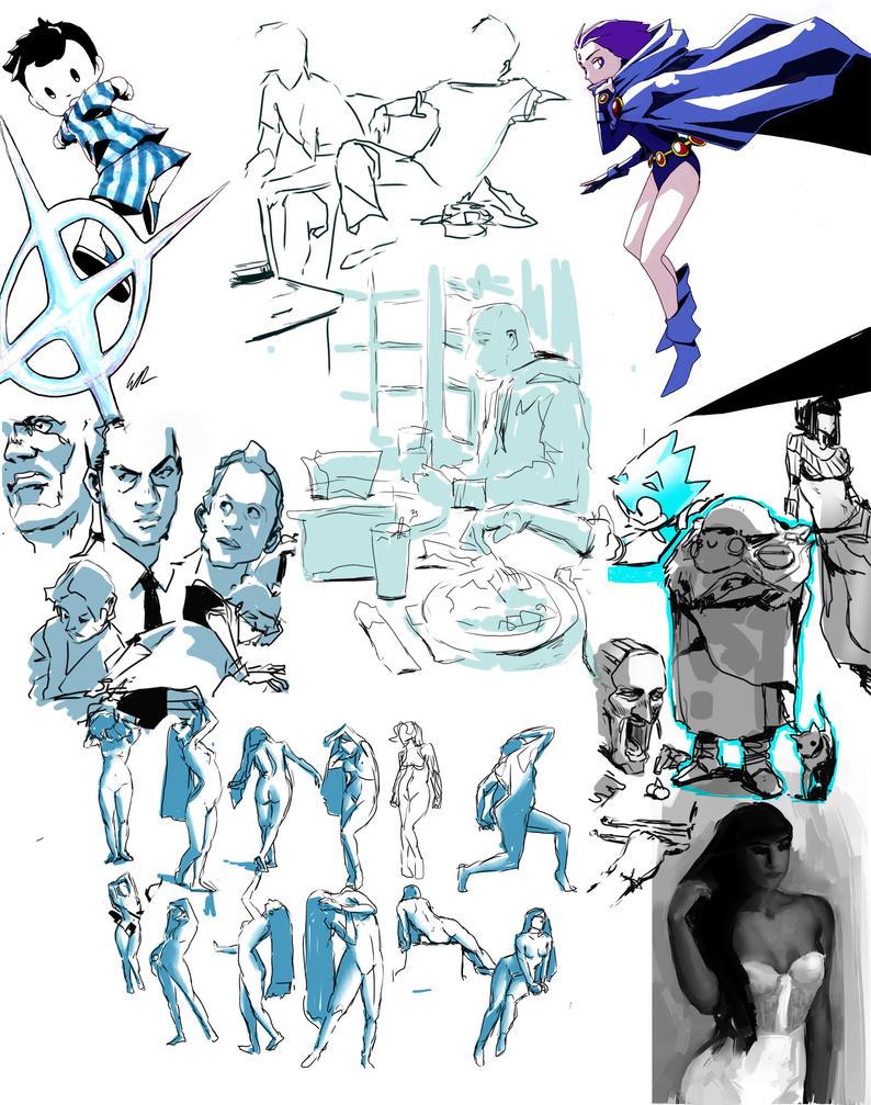 March 2015 stuff by Wynturtle