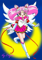 Eternal sailor Chibiusa by exyda