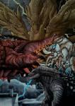 Godzilla, King Ghidorah, Rodan, Mothra KOTM