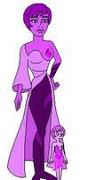 Diamondsona Purple by ObscureFanArtist