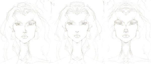Face Symmetry by numinousprime
