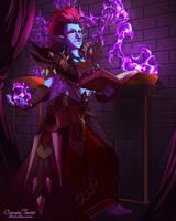 Shadow and Flame by artofcarmen