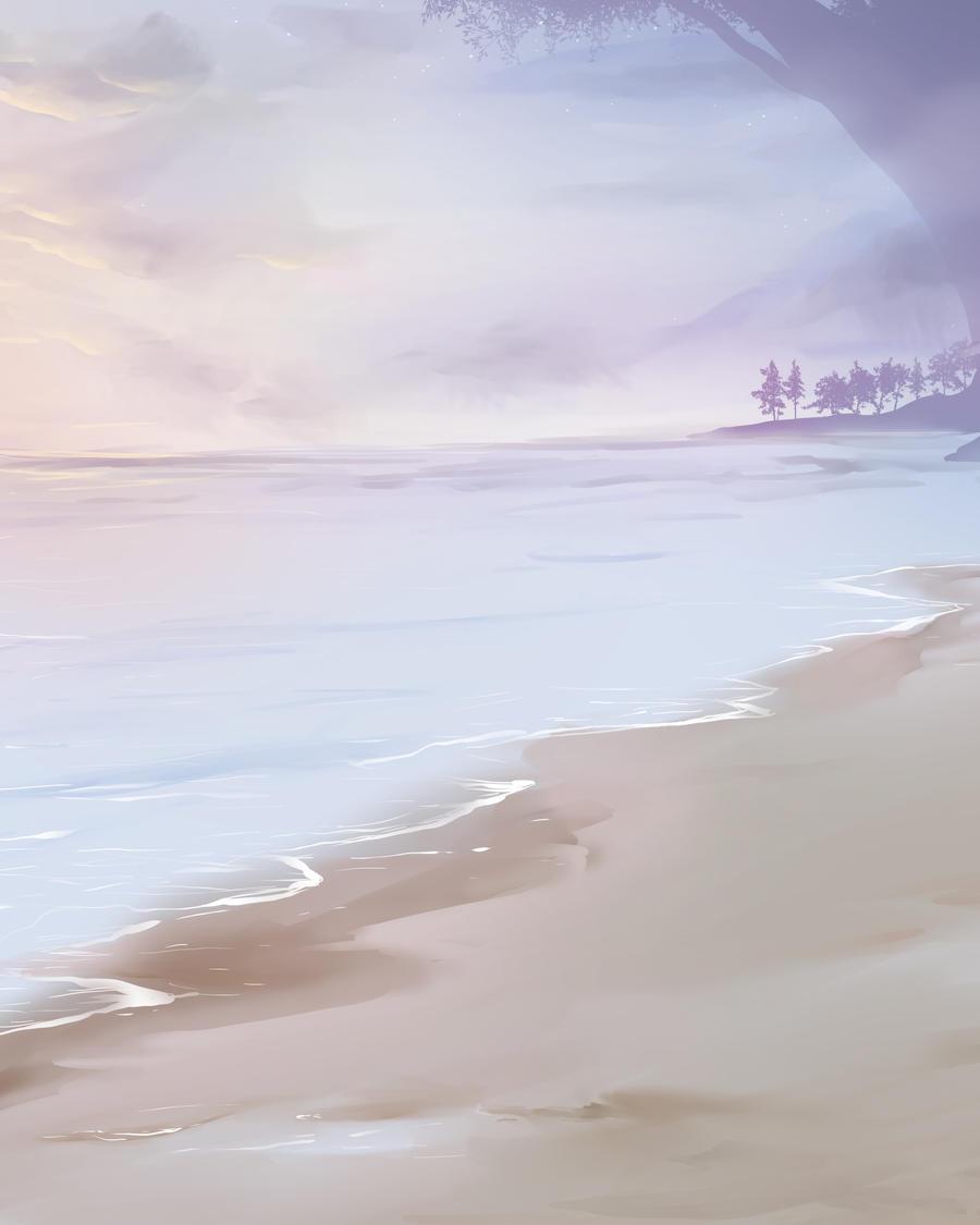 Free Background - Beach by artofcarmen
