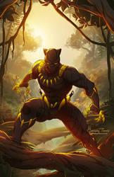 Black Panther by artofcarmen