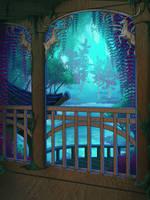 Free Background - Ashenvale Lakehouse