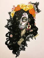Catrina Copic Portrait 2 by artofcarmen