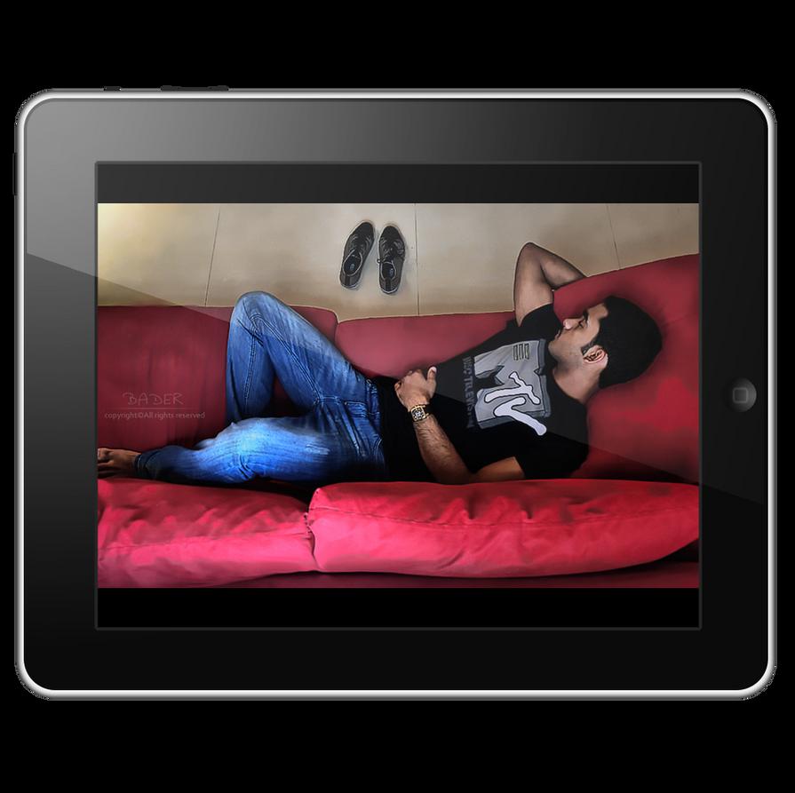 isleep 4 ipad by Bader77