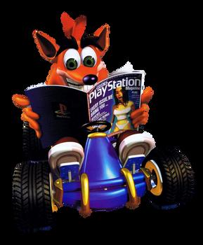 CTR: Crash Team Racing - Magazine