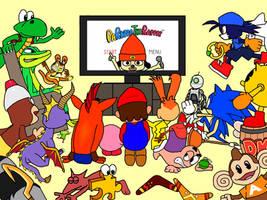 Cartoon Video Game Palooza by PaperBandicoot