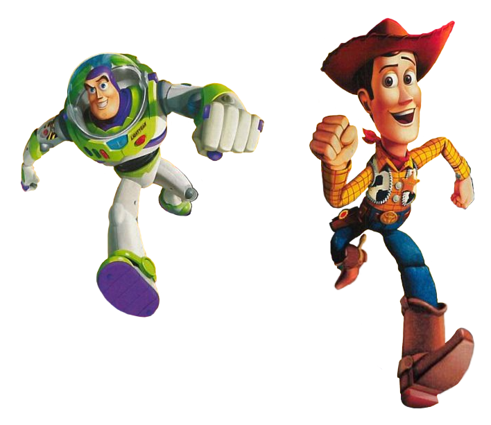 ts2 buzz lightyear to the rescue woody and buzz by
