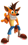 Crash Bandicoot (Unknown) Render - Point