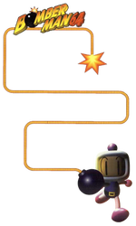Bomberman 64 - Bomb Fuse - Vertical by PaperBandicoot