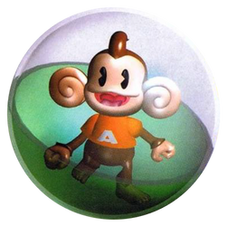 Super Monkey Ball - AiAi - Ball by PaperBandicoot