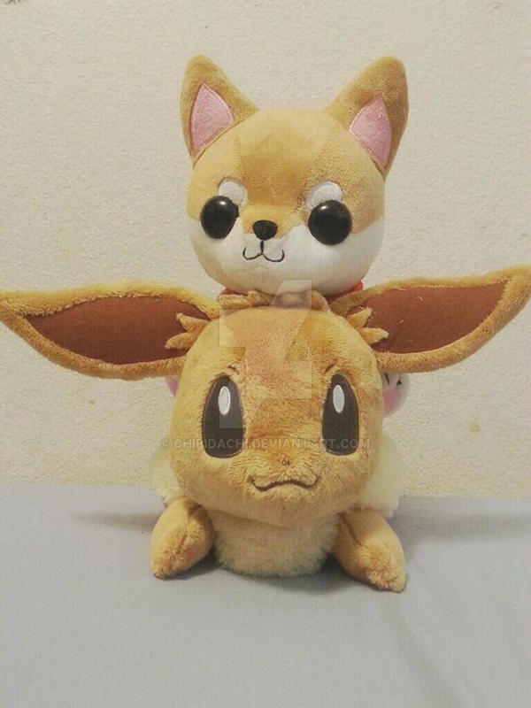 Shibao and Eevee 2 by krnbboyj