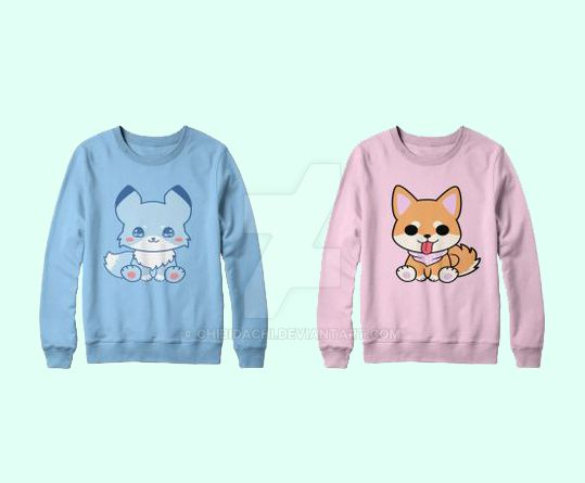 Kitsune N Shibao Sweater by krnbboyj