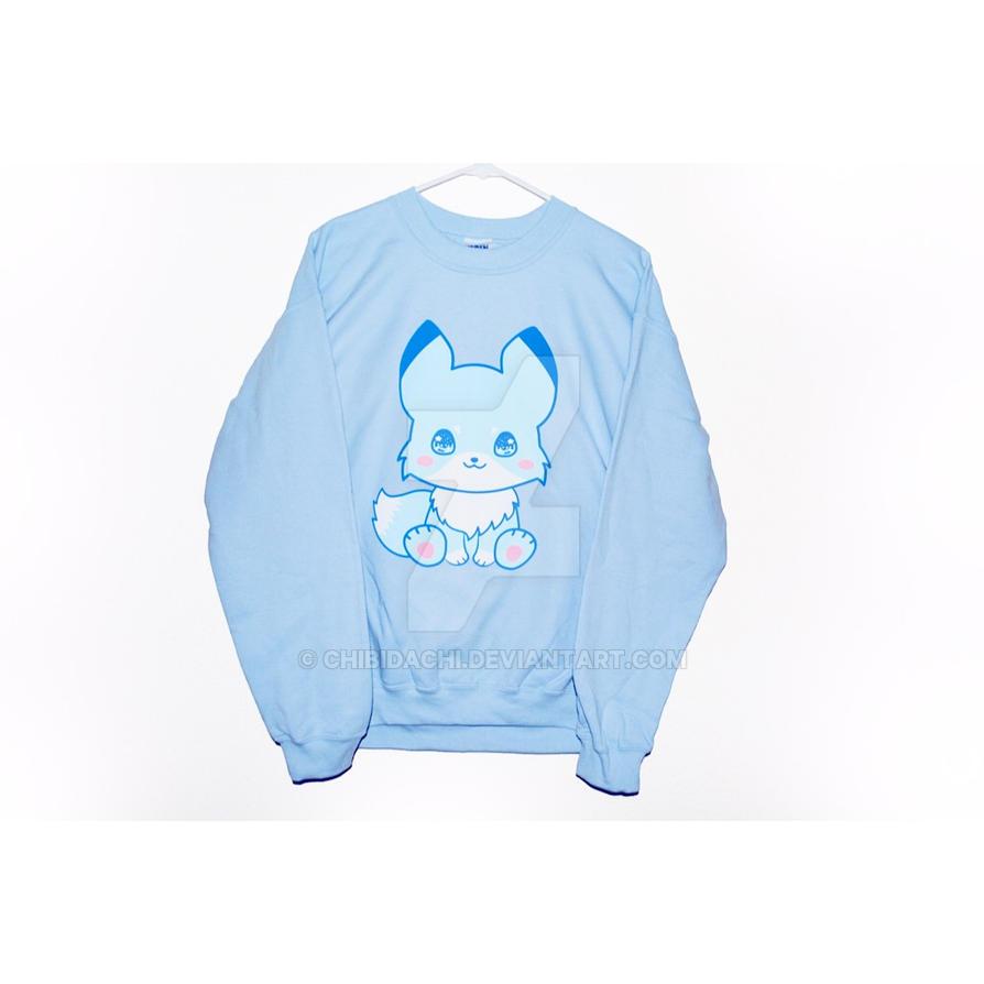 Chibi Kitsune sweater by krnbboyj